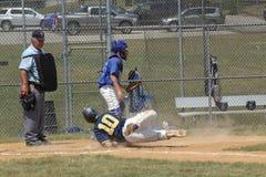 Baseball della High School   Fotografie Stock