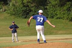 Baseball della High School Fotografia Stock Libera da Diritti