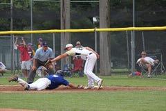 Baseball della High School Immagini Stock