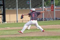 Baseball della High School Fotografia Stock