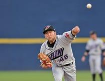 Baseball della Lega Minore - brocca Immagine Stock