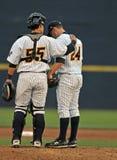Baseball della Lega Minore - congresso del monticello Fotografia Stock Libera da Diritti
