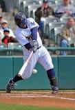 Baseball della Lega Minore - la pastella connette Fotografia Stock