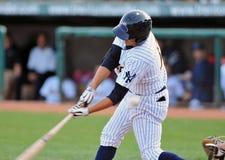 Baseball della Lega Minore - sporcato fuori Fotografie Stock