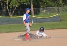 Baseball della piccola lega Immagini Stock Libere da Diritti