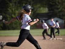 Baseball delle zanzare di Drumheller Fotografia Stock