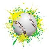 Baseball dello Splatter di vettore Fotografia Stock Libera da Diritti