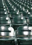 Baseball dello stadio Fotografia Stock