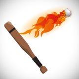 Baseball design. Baseball digital design, vector illustration 10 eps graphic Stock Images
