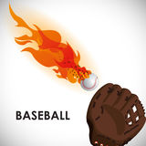 Baseball design Stock Image