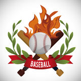Baseball design. Baseball digital design, vector illustration 10 eps graphic Stock Photography