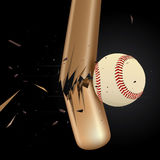 Baseball Design Element Set 3 Stock Photos