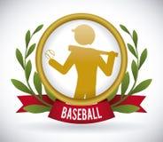 Baseball design Royalty Free Stock Photos