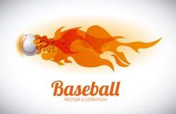 Baseball design. Baseball graphic design , vector illustration Stock Images