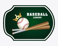 Baseball design Royalty Free Stock Images