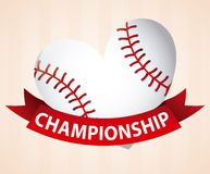 Baseball design Stock Photography