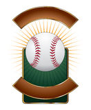 Baseball Design Template Burst Royalty Free Stock Photos