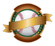 Baseball Design Template Ribbon Stock Photos
