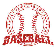 Baseball Design - Vintage Stock Photography