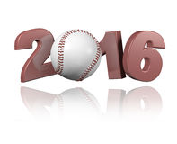 Baseball 2016 design Royalty Free Stock Photography