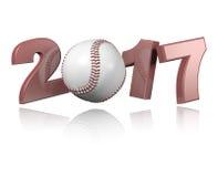 Baseball 2017 design Stock Photos