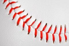 Baseball detail. Sport theme: A baseball detail stock photo