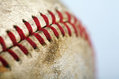 Baseball detail Stock Images