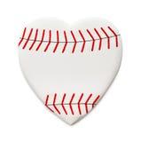 Baseball di amore fotografia stock