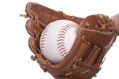 Baseball di cattura Immagine Stock