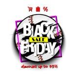 Baseball di vendita di Black Friday Fotografia Stock Libera da Diritti