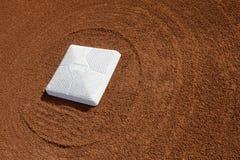 Baseball diamond base Royalty Free Stock Image