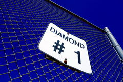 Baseball Diamond Sign Stock Image