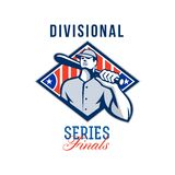 Baseball Divisional Series Finals Retro Stock Images