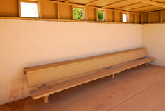Baseball Dugout Royalty Free Stock Photos