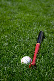 Baseball e blocco Fotografie Stock