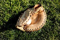 Baseball e guanto 2 Fotografia Stock Libera da Diritti