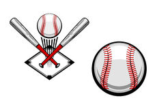Baseball emblem Royalty Free Stock Photography