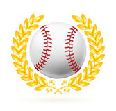 Baseball emblem Royalty Free Stock Image