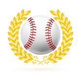 Baseball emblem. Computer illustration, isolated on the white Royalty Free Stock Image