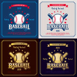 Baseball emblem Royalty Free Stock Photo