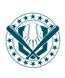 Baseball emblem or banner Royalty Free Stock Photo