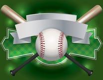 Baseball Emblem and Banner Illustration Stock Photos