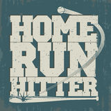 Baseball emblem - graphics for t-shirt Stock Images