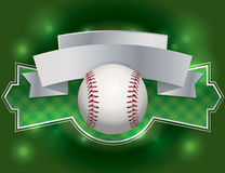 Baseball Emblem Illustration Royalty Free Stock Images