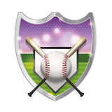 Baseball Emblem Illustration Stock Photos