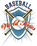 Baseball emblem Stock Images