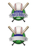 Baseball Emblems Illustration Stock Image