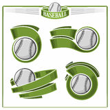 Baseball emblems Stock Photos