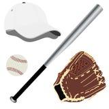 Baseball equipment Stock Photography