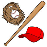 Baseball Equipment Stock Photo